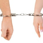Handcuffed Woman