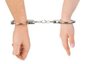 Handcuffed Woman