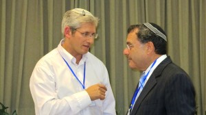 Rav Ronen Neuwirth and Rabbi Shlomo Riskin