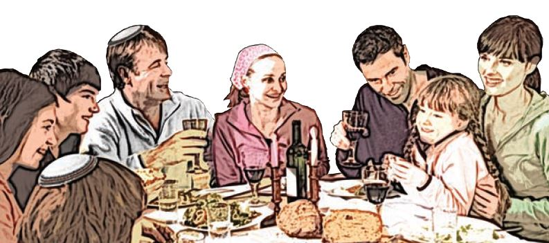 Shabbat Meal Together