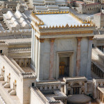 Second Temple Model of the ancient Jerusalem.