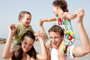Children on Parents Shoulders