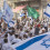 Youth Dancing With Israeli Flags