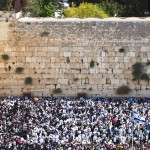 Prayer of Jews at Western Wall