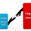 Help yourself and help others