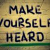 Make Yourself Heard