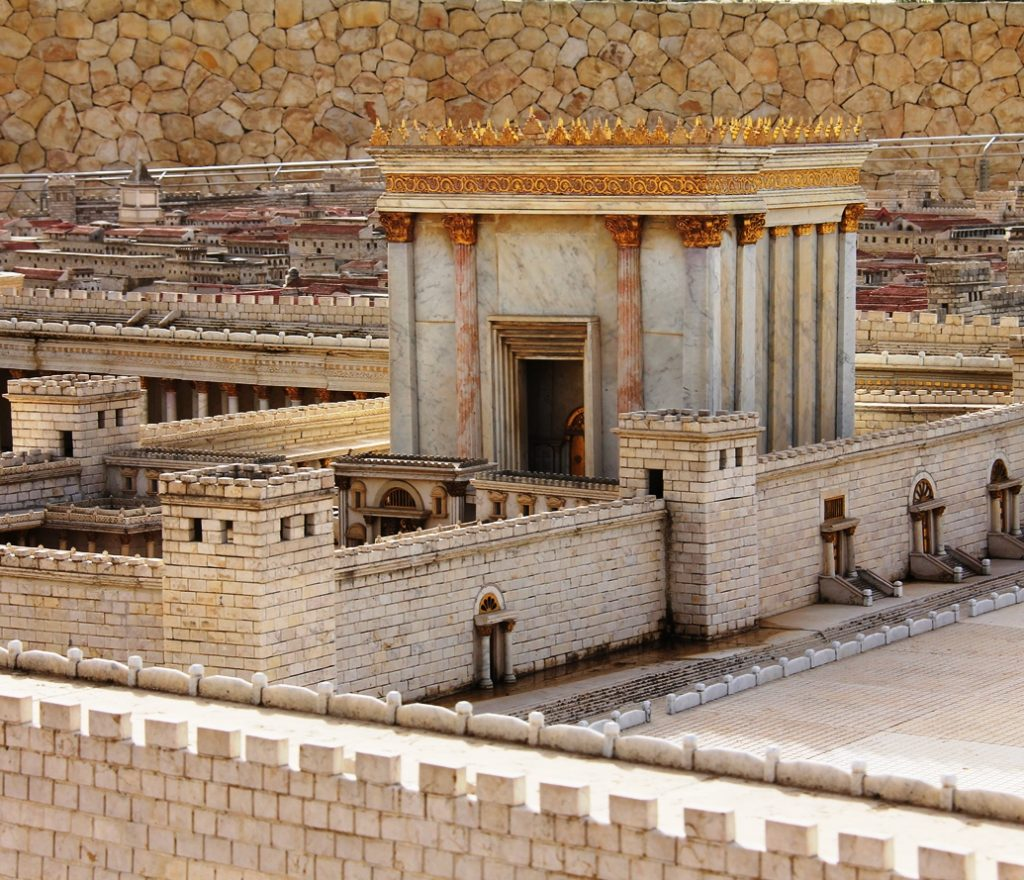 Model of the Jerusalem temple